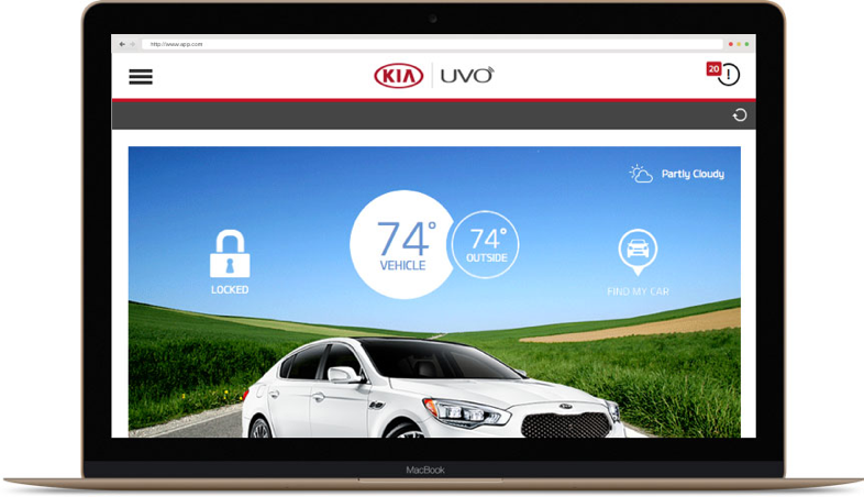 Kia desktop application