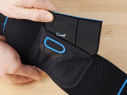 Quell connected health device