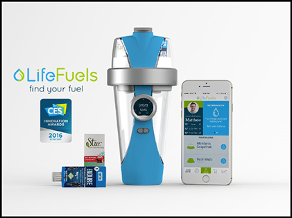 Lifefuels connected health device