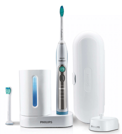 Philips toothbrush connected health device