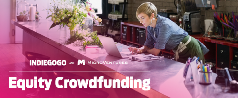 equity crowdfunding indiegogo microventure