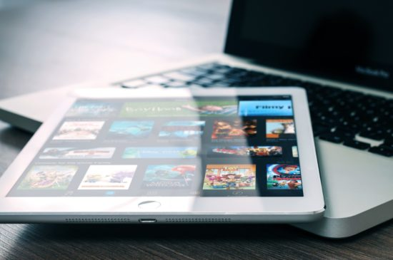 streaming services tablet