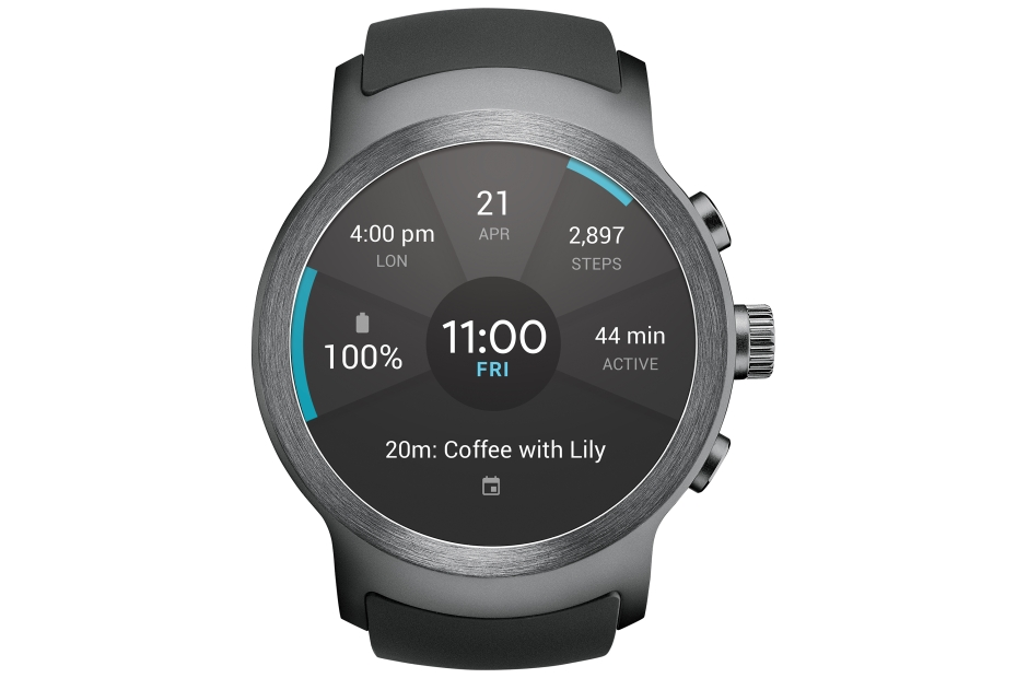 Android Wear 2.0 LG Sport