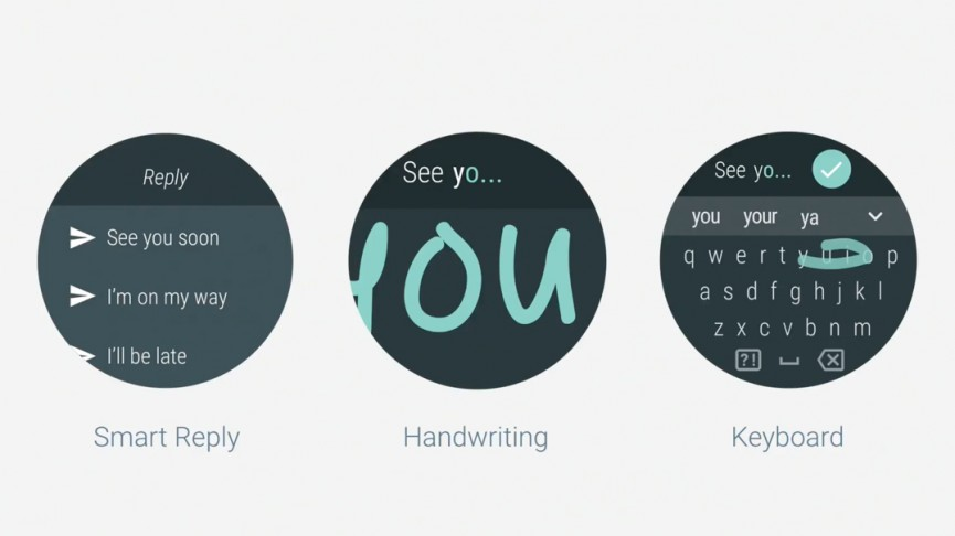 Android Wear 2.0 messaging