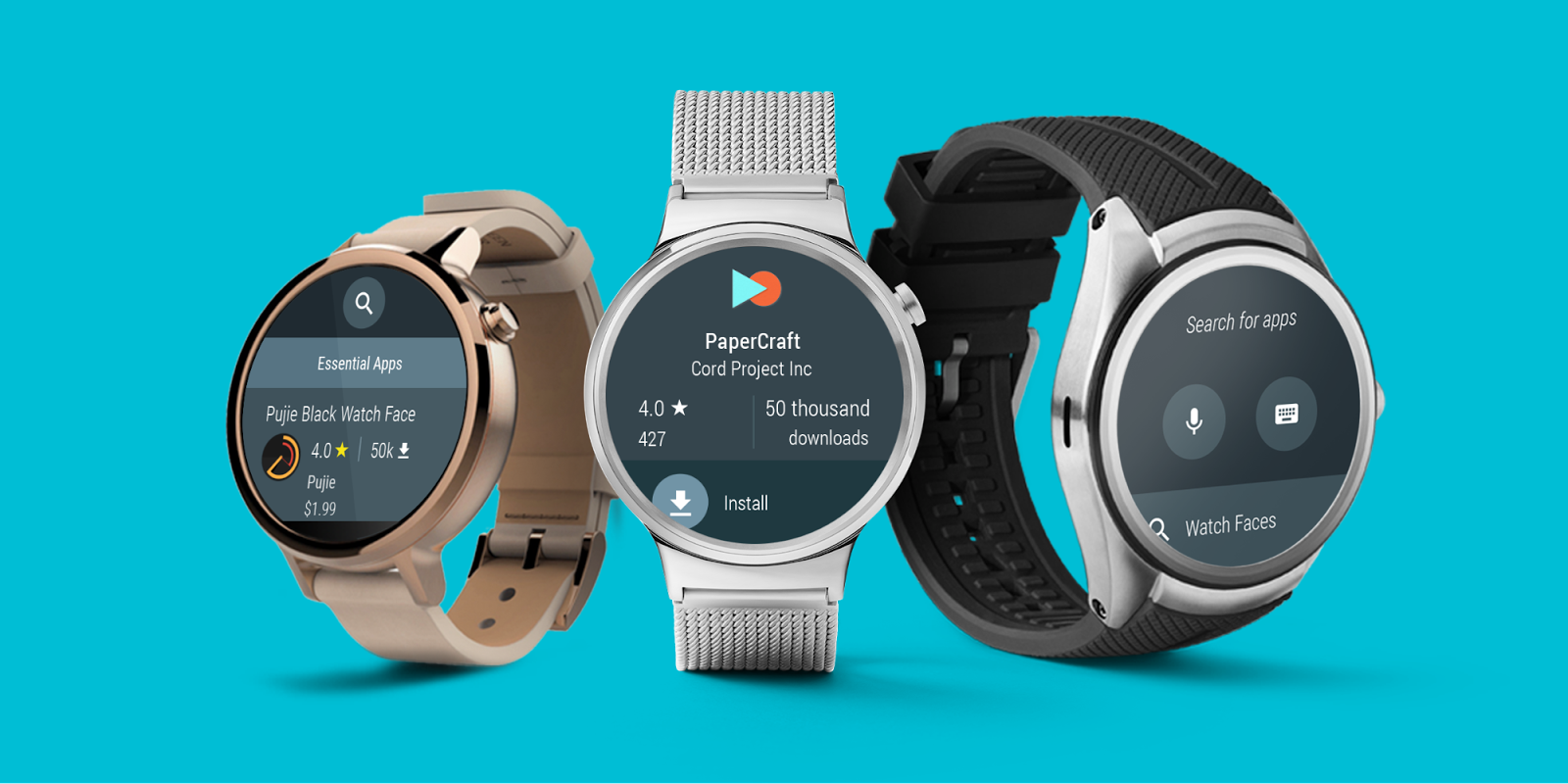 Android Wear 2.0 watch