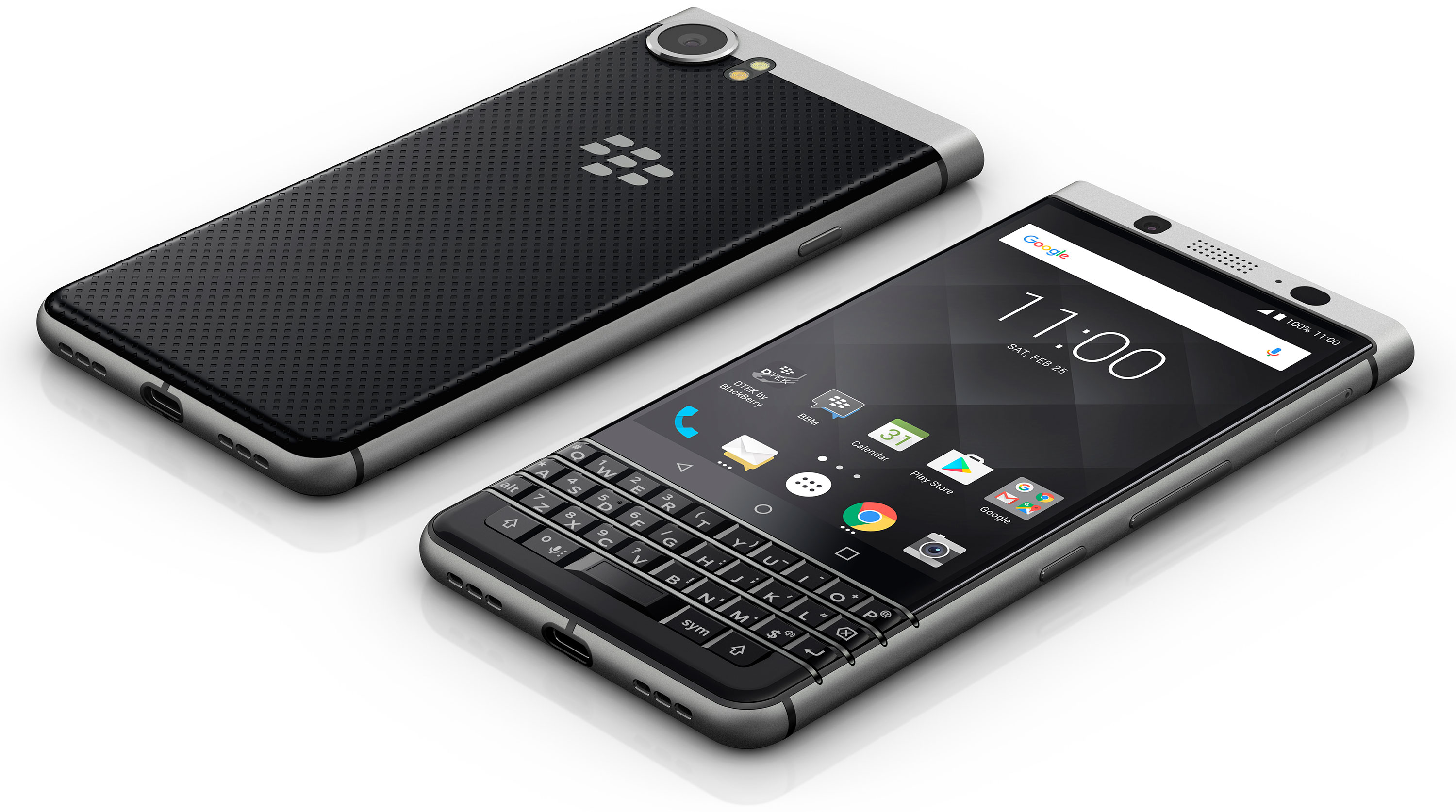 MWC 2017 Blackberry KEYone