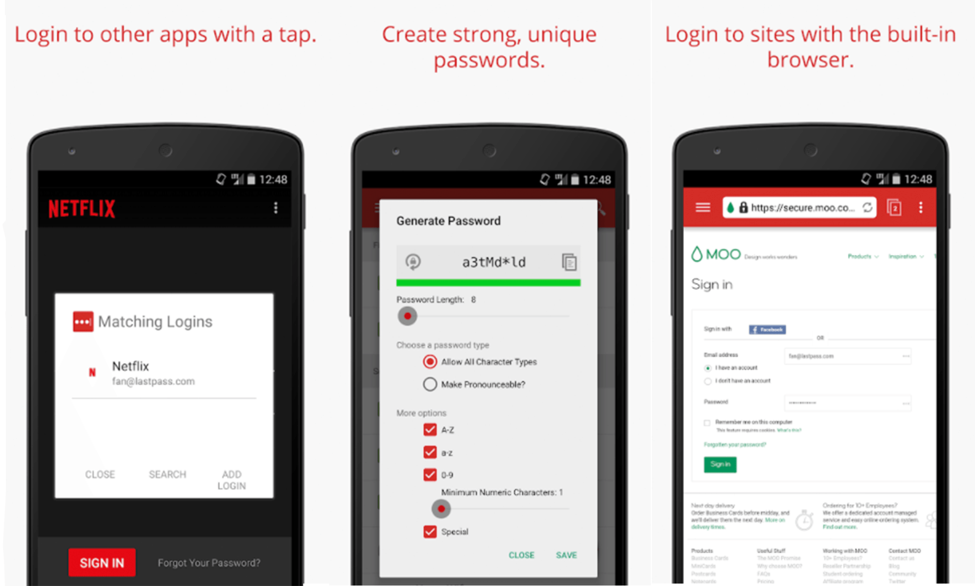 Last Pass - Native Android App