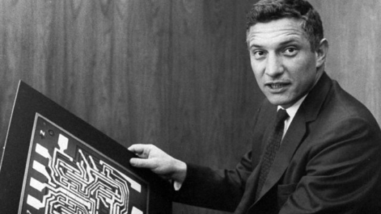 Robert Noyce with Motherboard