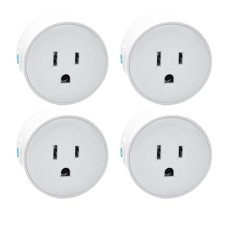 4 pack of white smart plugs is one of the best tech gifts 2018